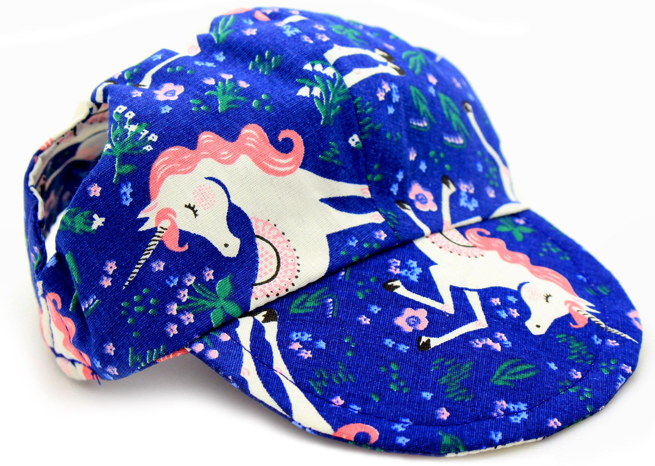 Boné para Cachorro - Azul Marinho e Rosa Estampa Unicórnios - Belo Pet - Pet  Elegante 67fc87563c2
