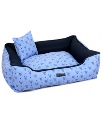 Cama Estampa Dog Azul - Emporium Distripet