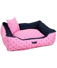Cama Estampa Dog - Rosa